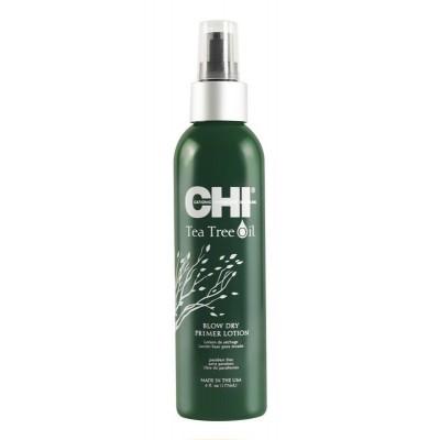 CHI Tea Tree Oil: Лосьон-праймер с маслом чайного дерева для укладки волос (Blow Dry), 177мл