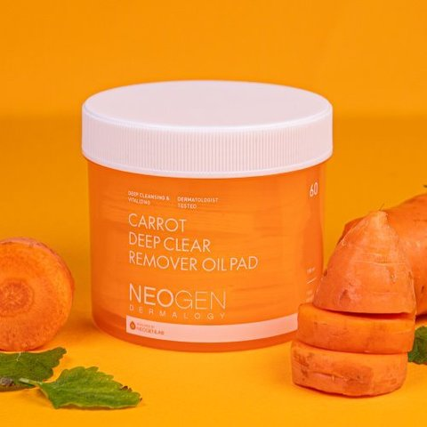 NEOGEN Carrot Deep Clear Remover Oil Pad 60ea