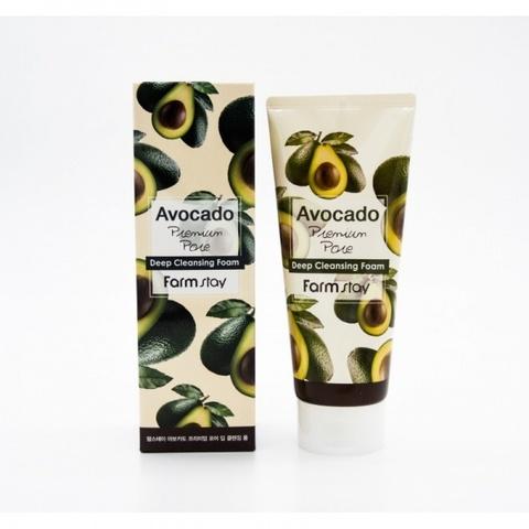 Пенка для умывания с экстрактом авокадо Avocado Premium Pore Deep Cleansing Foam