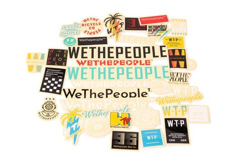 Набор стикеров WeThePeople Brand