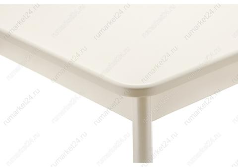 Стол деревянный Амато молочный