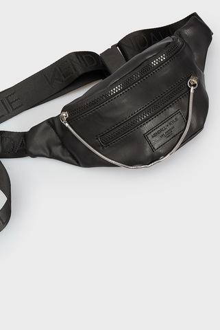 Женская черная поясная сумка CARINA Kendall + Kylie
