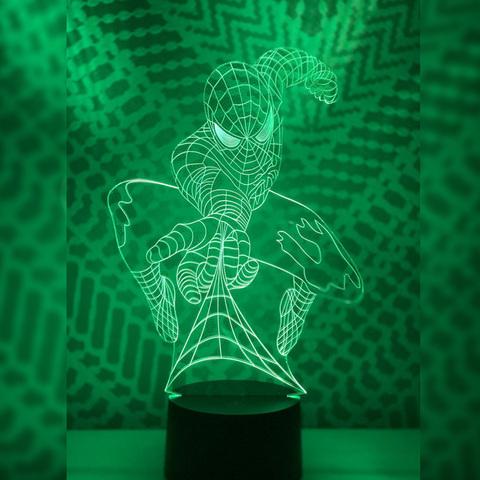 Ночник Человек паук #4