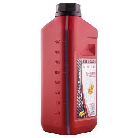 Масло трансмиссионное DDE SAE 80W-90,  API GL-5 ( 1л ) минеральное (M-SAE80W-90)
