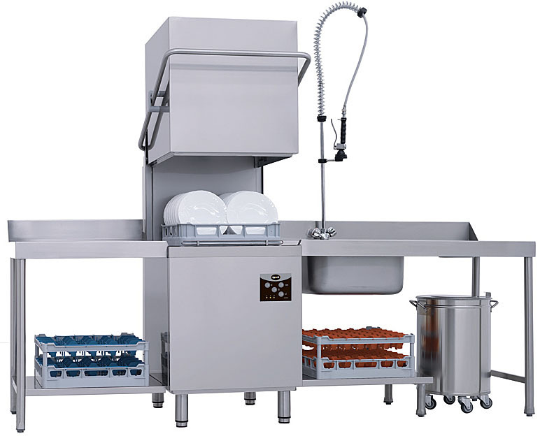 фото 1 Купольная посудомоечная машина Apach AC800 (ST3800RU) на profcook.ru