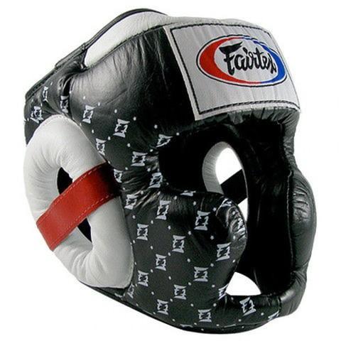 Шлем Fairtex Headguard Super Sparring HG10 Black