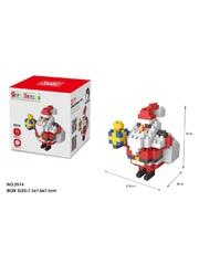 Конструктор Wisehawk Санта Клаус с подарком 144 детали NO. 2514 Santa Claus with a gift Gift series