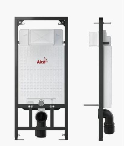 Система инсталляции для подвесного унитаза Alcaplast Sadromodul A101/1200