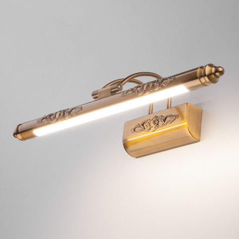 Schelda LED бронзовая Настенный светодиодный светильник MRL LED 8W 1010 IP20