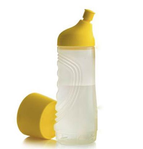 Бутылка спортивная (750 мл) в жёлтом цвете