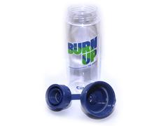 Бутылка для воды. Материал: пластик, силикон. Объём 620 ml. XL-1908