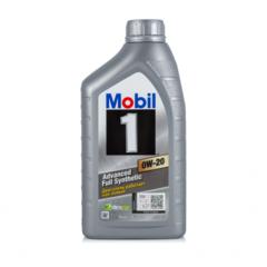 Синтетическое моторное масло MOBIL 1 0W-20 1 л