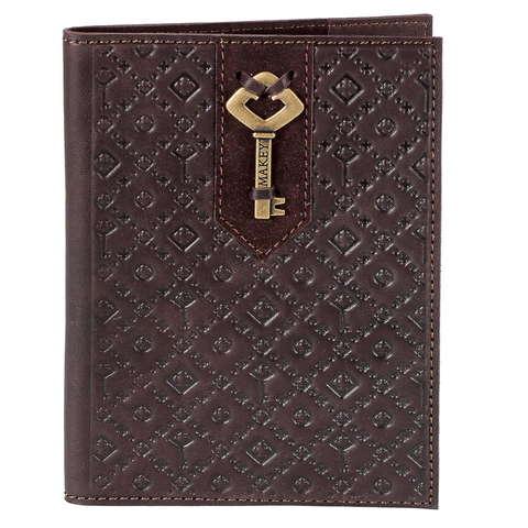 Обложка на паспорт | Ключ | Бордовый