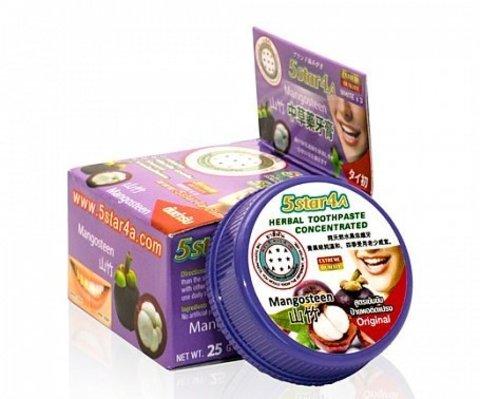 Зубная паста 5Star4a Herbal toothpaste mangosteen