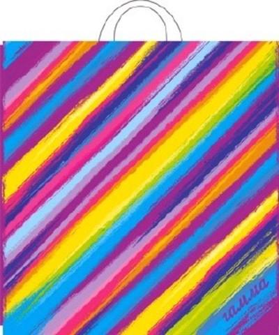 Пакет ПЭ с петлевой ручкой 40х42+6 (50) Гамма