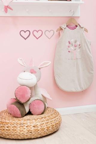Спальный мешок Nattou Nina, Jade & Lili 70см taupe