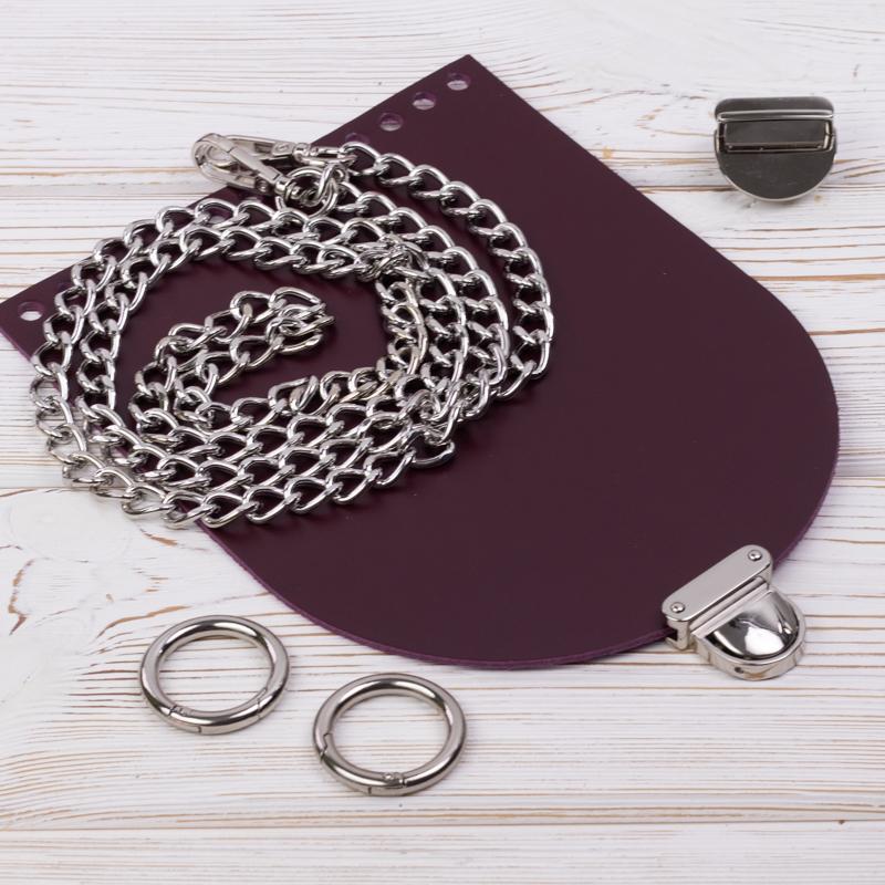 """Каталог Комплект для сумочки Орео """"Вино"""" с цепочкой IMG_7115.jpg"""