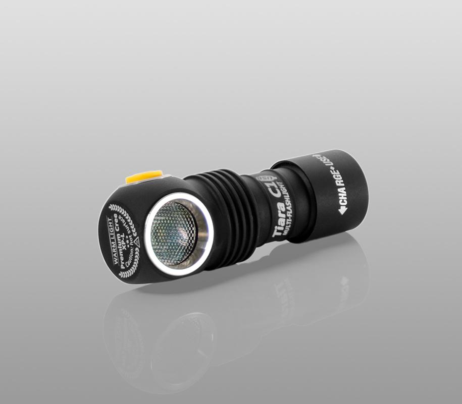 Мультифонарь Armytek Tiara C1 Magnet USB (тёплый свет) - фото 10