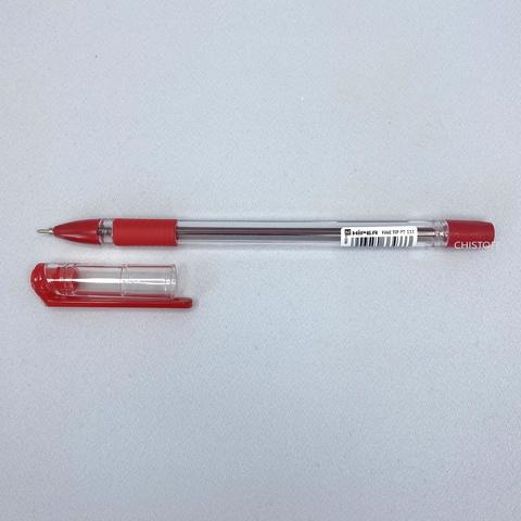 Ручка шариковая масляная Hiper 0,7 мм красная