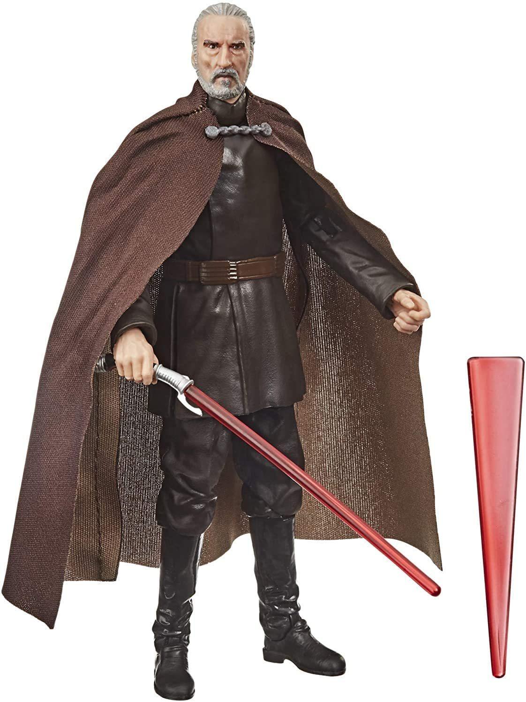 Фигурка Граф Дуку (Count Dooku) Атака Клонов Star Wars: Black Series Звездные Войны