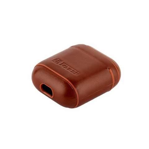 Чехол кожанный I-Carer Vintage Leather Protective Case для AirPods (IAP001br) Коричневый