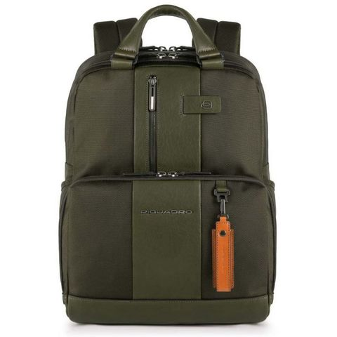 Рюкзак Piquadro Brief (CA3975BR/VE) зеленый кожа/ткань
