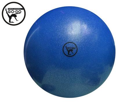 Мяч GO DO для худ. гимн. D15 см. Цв. синий имитация