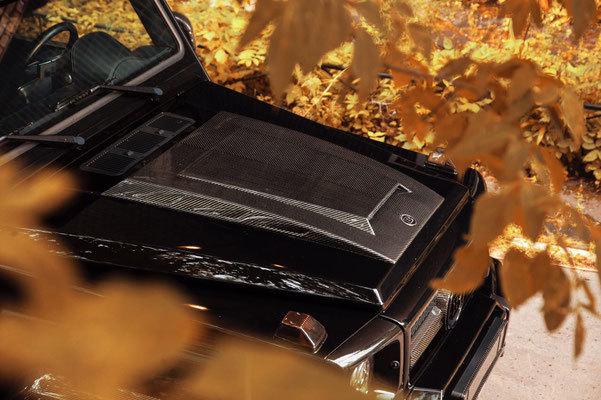 Накладка на капот для Mercedes G-class