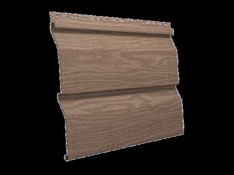 Сайдинг Ю пласт Тимберблок акриловый натуральный кедр 3050х230 мм