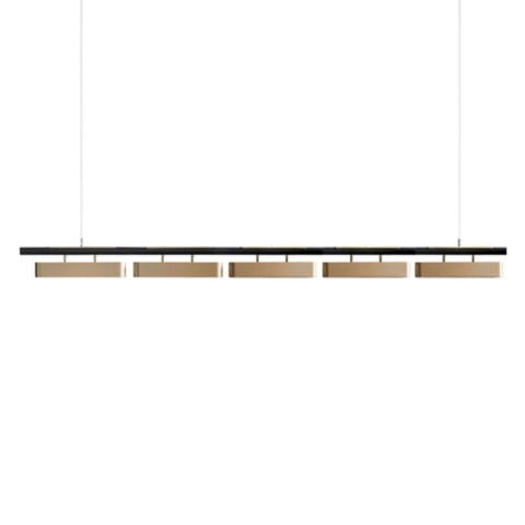 Подвесной светильник копия Colt by Bert Frank (5 плафонов)
