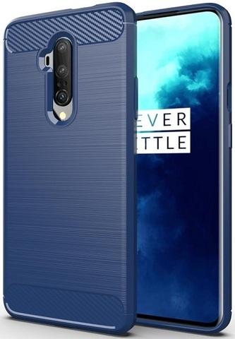 Чехол OnePlus 7T Pro цвет Blue (синий), серия Carbon, Caseport