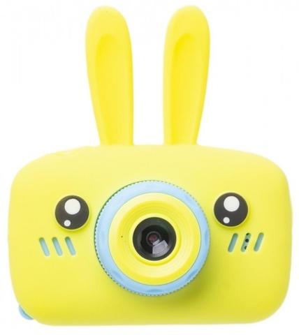 Фотоаппарат Fun Camera Rabbit со встроенной памятью и играми (Желтый)
