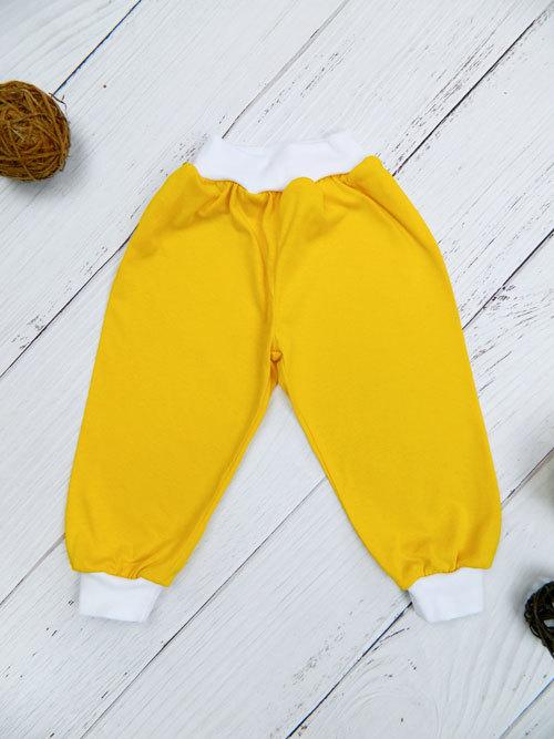 Штанишки 1402, желтые