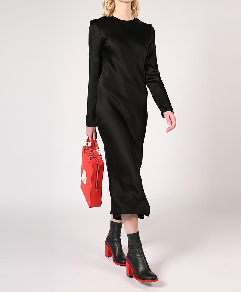 платье-шёлковое-чёрное