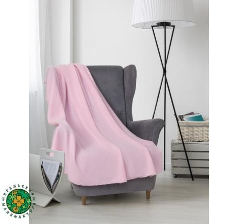 Плед для медитации флисовый Pink 150*130 см