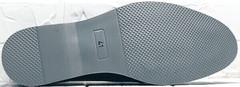 Классические черные туфли лоферы летние мужские Luciano Bellini 91178-E-212 Black.