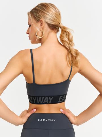 Топ-бра спортивный женский для йоги