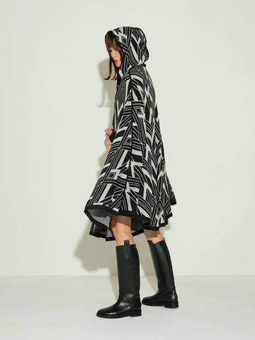Женский кардиган черного цвета из шелка и кашемира - фото 4