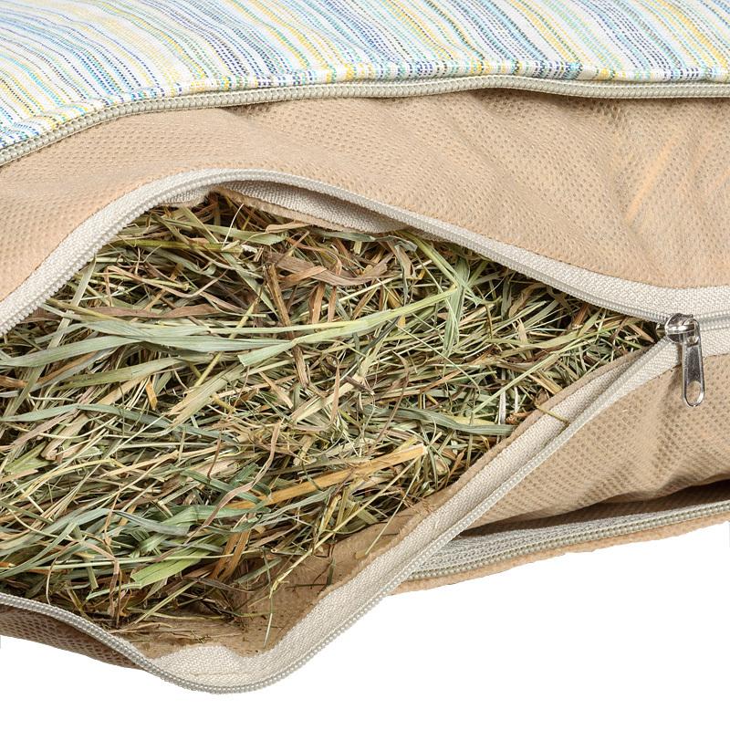 Подушка для бани и сауны из сена