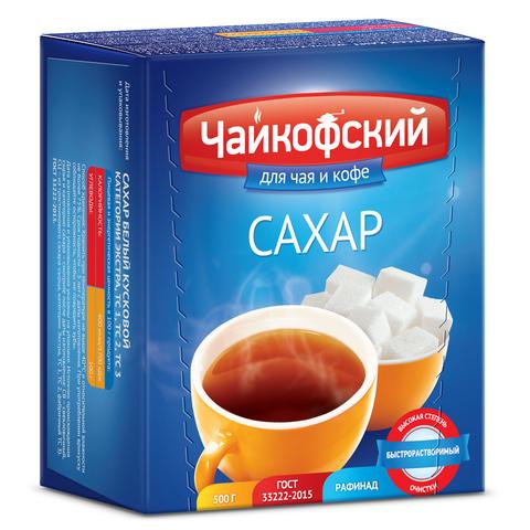 Сахар-рафинад Чайкофский 500г