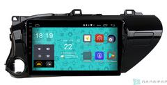 Штатная магнитола 4G/LTE Toyota Hilux 18+ Android 7.1.1 Parafar PF063