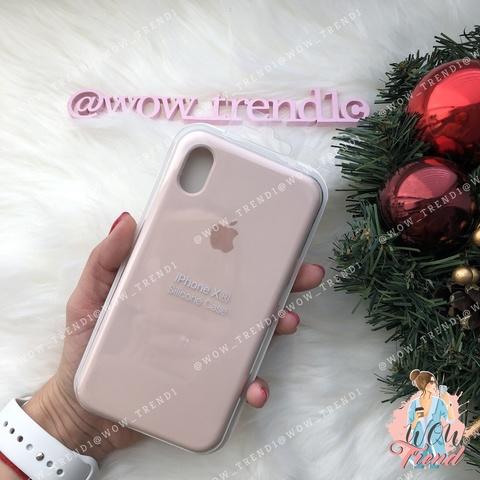 Чехол iPhone XR Silicone Case /pink sand/ розовый песок 1:1