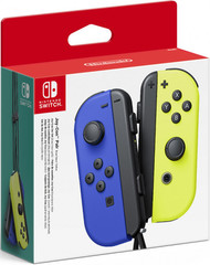 Набор контроллеров Joy-Con (Nintendo Switch, неоновый синий / неоновый желтый)
