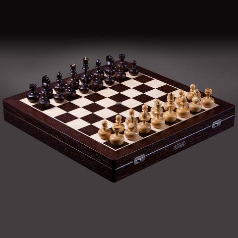 Шахматы Карпов-дизайн «Непобедимые» Самшит-Венге