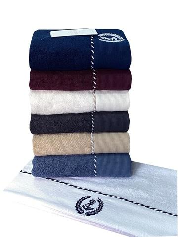 MICHEL SAILING - МИШЕЛЬ САЙЛИНГ баклажан полотенце махровое Maison Dor(Турция) .