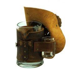 Сувенирная кружка Шериф, коричневая, фото 3