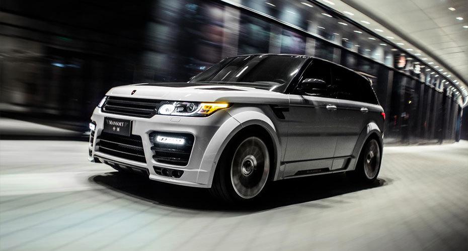 Обвес Mansory для Range Rover Sport 2 2014+