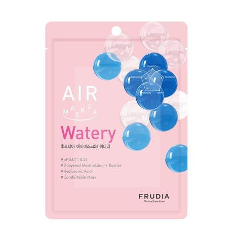 Воздушная маска для глубокого увлажнения  FRUDIA AIR MASK 24 WATERY (1 шт)