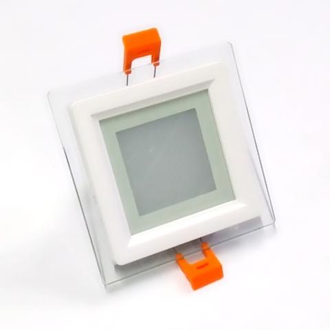 Светодиодный Led светильник встраиваемый Feron AL 2111 Белый (квадратный) 6W 5000K