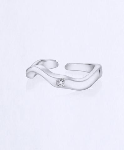 Кольцо миди Reunion серебро